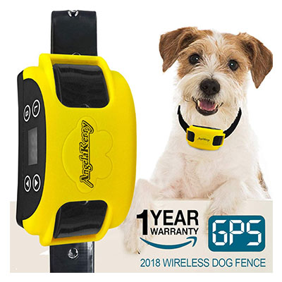 Best Wireless Invisible Dog Fences AngelaKerry Wireless Dog Fence System