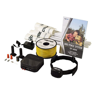 Best Dog Containment Fences DOGTEK Electric Dog Fence Kit