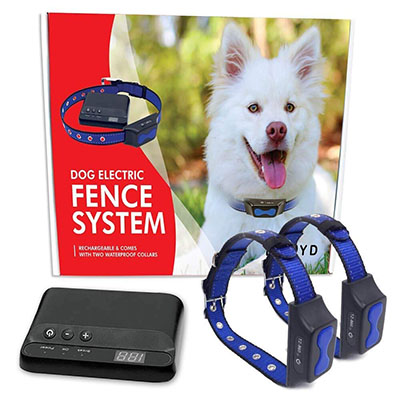 Best Wireless Invisible Dog Fences Floyd Invisible Electric Fence for Dogs