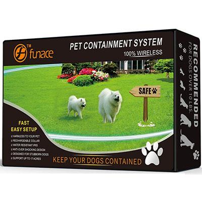 Best Wireless Dog Fences FunAceRechargeable WirelessFence System